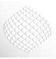 modern geometric texture in white backgrounds vector image vector image