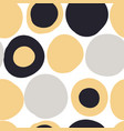 modern seamless pattern with abstract shapes vector image vector image