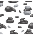 Relax stone seamless pattern vector image