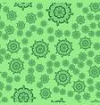 seamless light green flower mandala for print on vector image vector image