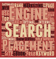 You Must Use The Right Keywords To Attain High vector image vector image