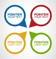 Pointers vector image