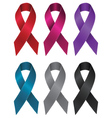 Colorful Ribbons Set4 vector image