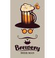 beer men vector image vector image