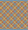 brown check plaid fabric texture seamless pattern vector image vector image