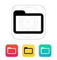 Folder icon vector image