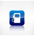 Gas fuel station icon vector image vector image