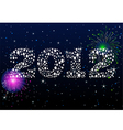 new years eve celebration vector image vector image