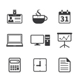 Office and Business Icon vector image vector image