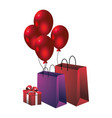 party gift cartoon vector image vector image