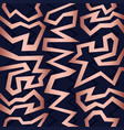 copper 80s retro seamless pattern background vector image