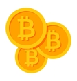 Crypto Currency Icon vector image vector image