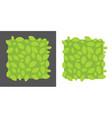 green leaf frame spring background banner with vector image