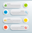 infographic business conceptual template vector image vector image