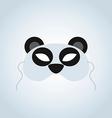 Panda Mask vector image