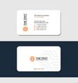 tile flooring business card