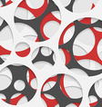 Abstract Circles Geometric Background vector image vector image