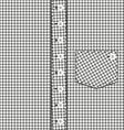 abstract plaid shirt vector image vector image