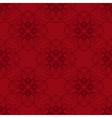 abstract red christmas background vector image vector image