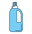 bottle laundry product icon vector image