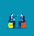 business people meeting talking concept business vector image vector image