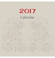 calendar Two roosters russian format vector image