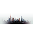 cityscape blurred vector image vector image
