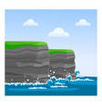 cliffs of moher in county clare vector image vector image