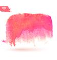 Color watercolor blotch vector image vector image
