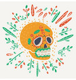 day dead vector image vector image