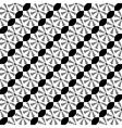 Design seamless monochrome lace decorative pattern vector image vector image