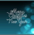 flat christmas background vector image vector image