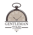 Gentlemens hipster icon logo badge vector image