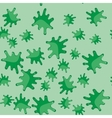 Green blot cartoon seamless pattern 617 vector image vector image
