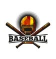 isolated abstract colorful baseball helmet vector image