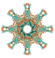 mazaika kaleidoscope vector image vector image