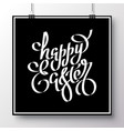 poster for happy easter 10 vector image
