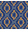 seamless pattern Tribal Art Ikat Ogee in vector image vector image