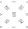 tax sheet pattern seamless vector image vector image