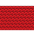 Abstract red spiral background vector image