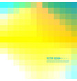abstract pixel background vector image vector image