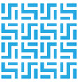 abstract seamless pattern background maze of blue vector image vector image
