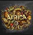 cartoon cute doodles africa word