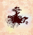 Castle Fantasy Concept Background vector image vector image