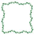 clover border vector image vector image