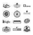 Coffee Labels Logo vector image