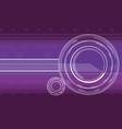hi-tech background in violet color vector image vector image