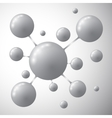 Molecule icon Modern template for business vector image vector image