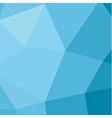 polygon background in low poly style modern vector image vector image