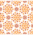 Round old pattern vector image vector image